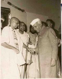 Nehru-Swamiji