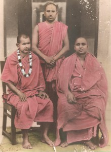Old Pic with Swami Sarvanandji and Ishwar Muni Ji