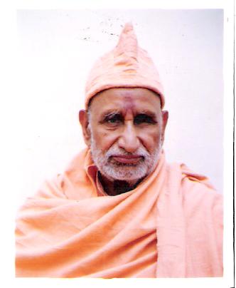 Swami Govindanand ji Passport Size Photograph